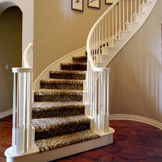Contemporary Staircase by Schroeder