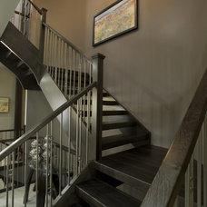 Contemporary Staircase by Centennial 360