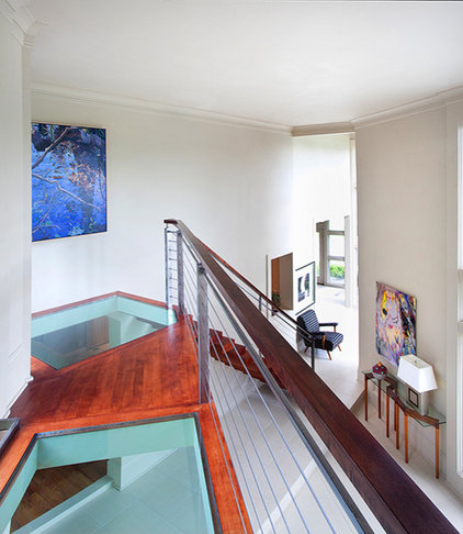 Modern Staircase by Chad Chenier Photography