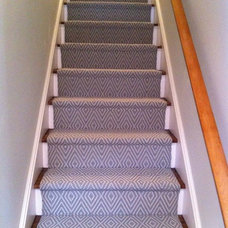 Traditional Staircase by Colony Rug Company, Inc.