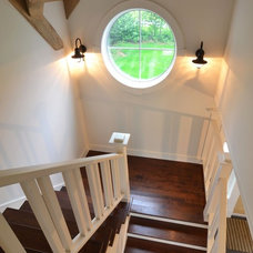 Traditional Staircase by Craftsman Construction