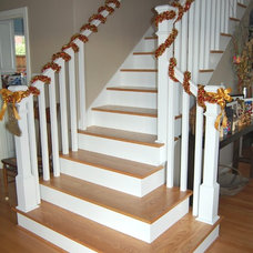 Traditional Staircase by Elizabeth P. Lord Residential Design
