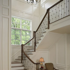 Traditional Staircase by Gallagher Homburg & Gonzalez Architects PLLC