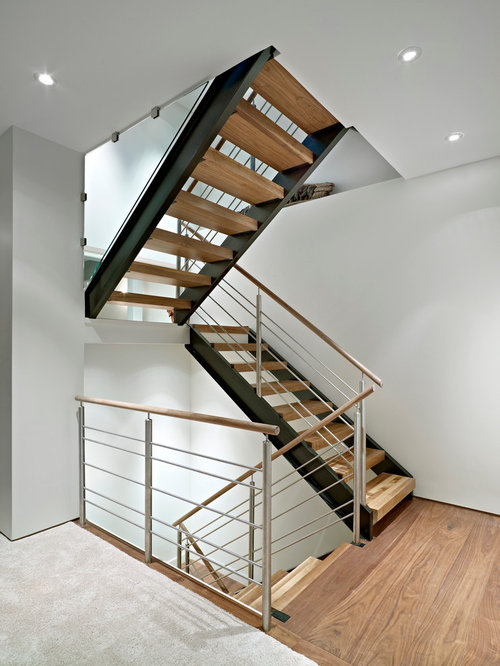 Glulam stairs home design ideas pictures remodel and decor