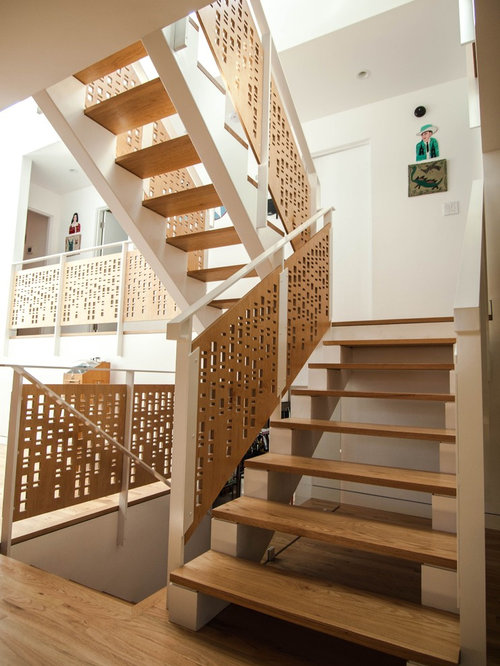 Acrylic Stair Rail Panels Houzz