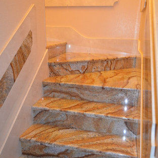 Staircase - mediterranean staircase idea in Tampa