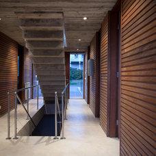 Contemporary Staircase by Martin Gomez Arquitectos