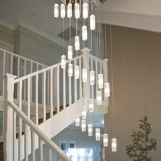 Contemporary Staircase by Matilda Rose Interiors