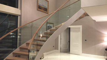 Stairs | oak steps | handrail