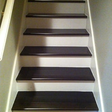 Contemporary Staircase by simpleFLOORS Seattle