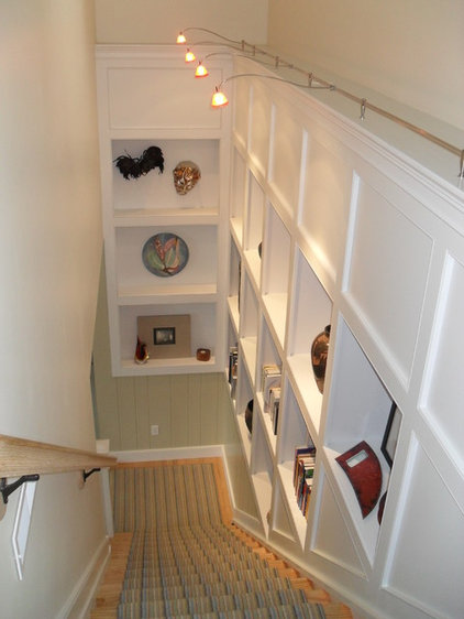 Traditional Staircase by American Dimensions LLC.