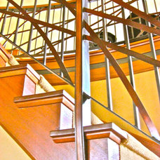 Modern Staircase by Finishing Touches NW Inc