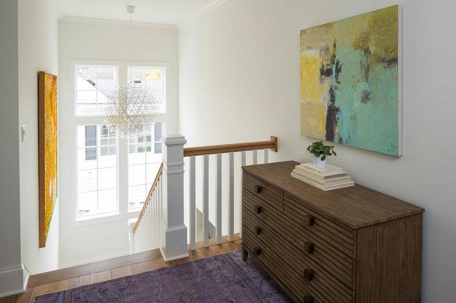 Contemporary Staircase by Martha O'Hara Interiors