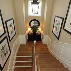 Traditional Staircase by LUXE INTERIORS