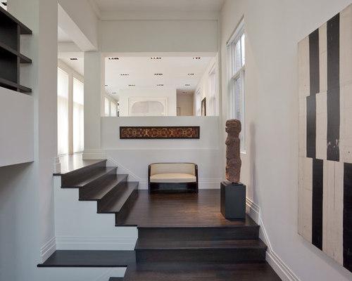 Contemporary Split Level Staircase Design Ideas, Remodels & Photos