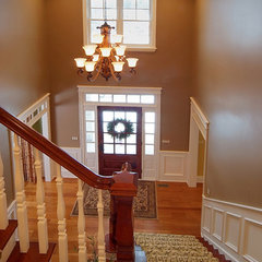 traditional staircase by Tracy Grosspietsch Interiors