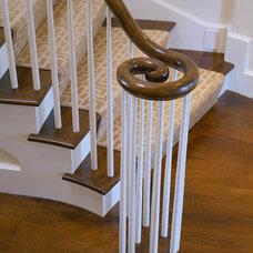 Traditional Staircase by Polhemus Savery DaSilva