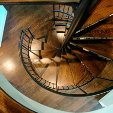 Traditional Staircase by Rogan Allen Builders LLC