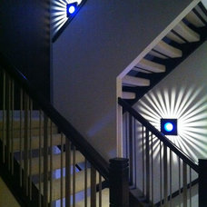 Contemporary Staircase by Anul Patel
