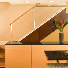 Asian Staircase by Christine Suzuki, ASID, LEED AP