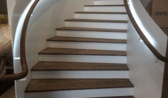 Stairwell Handrail Strip Lighting
