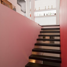 Modern Staircase by DRAW Architecture