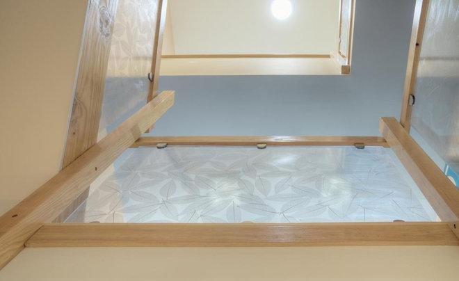 Modern Staircase by Buckminster Green LLC