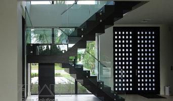 Standoff Glass Railing system