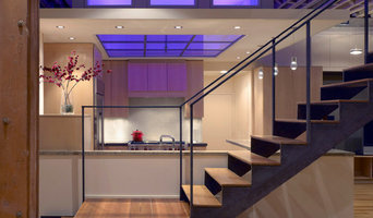 Steel and Glass Timber Loft