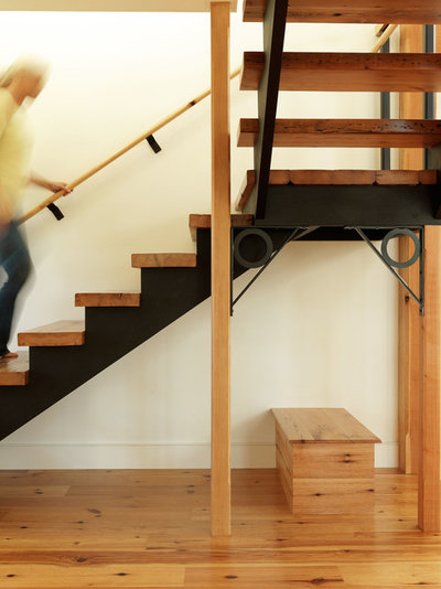 Farmhouse Staircase by Conner & Buck