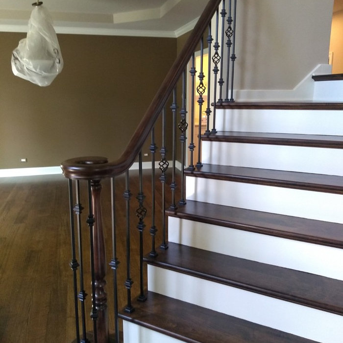 Steel Baluster Installation