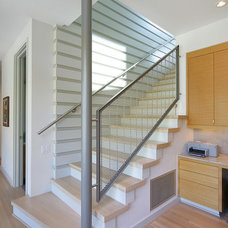 Contemporary Staircase by Domiteaux + Baggett Architects, PLLC