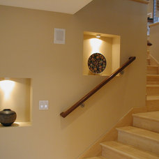 Contemporary Staircase by Drager Architecture