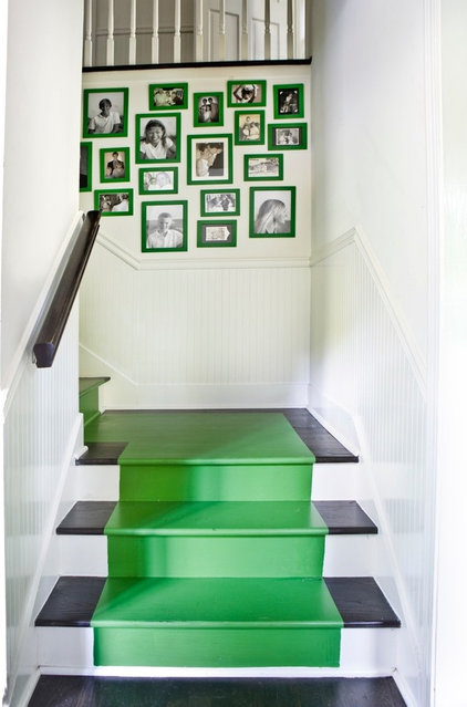 traditional staircase by Erica George Dines Photography  Pantone Color of 2013: Emerald Decorations 079139a600291d5c 9458 w422 h639 b0 p0  traditional 20staircase