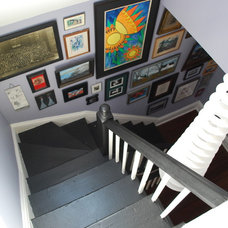 Eclectic Staircase Stewart St.