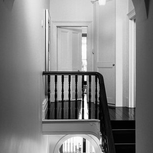 Victorian staircase in Melbourne.