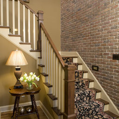 traditional staircase by Bob Michels Construction, Inc.