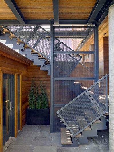 Contemporain Escalier by Irwin Fisher, Inc.