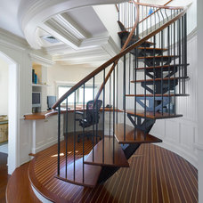 Traditional Staircase by Moger Mehrhof Architects