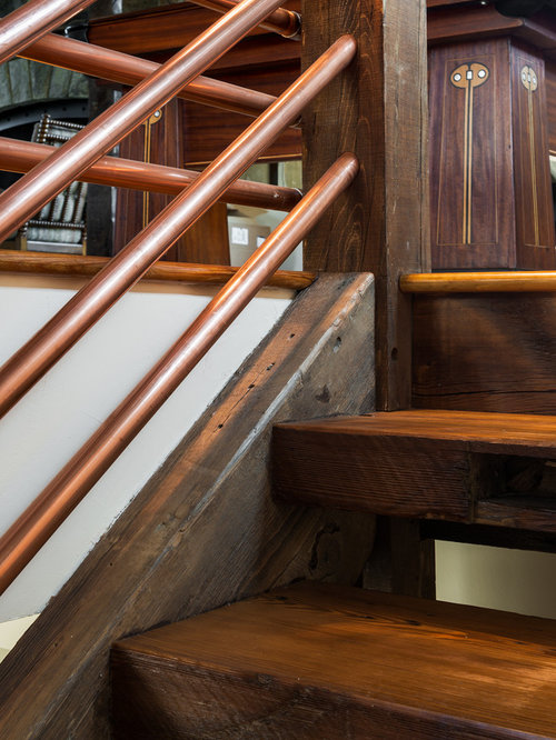 Copper Handrail Home Design Ideas Pictures Remodel And Decor