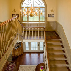 Traditional Staircase by Worthington Custom Builder Inc.