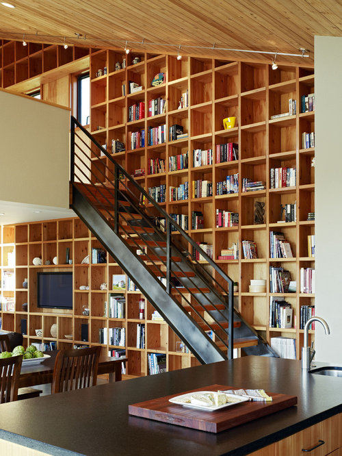 Wall Of Bookshelves wall of bookshelves | houzz