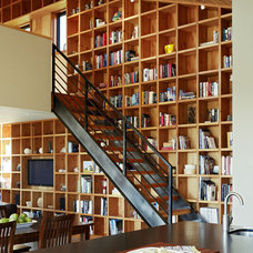 Contemporary Staircase by Malcolm Davis Architecture
