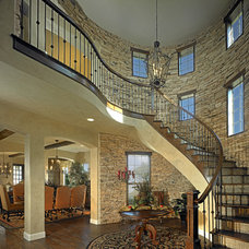 Traditional Staircase by Elements of Design