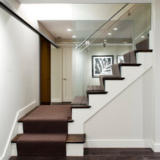 Contemporary Staircase by B&D Building & Remodeling
