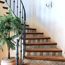 Mediterranean Staircase by CheaperFloors