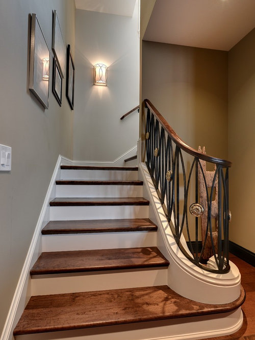 Lighting Basement Washroom Stairs: Stairwell Wall Sconces