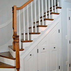 Traditional Staircase by Melissa McLay Interiors