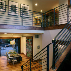 Contemporary Staircase by Imagine Home Staging and Design