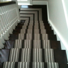 Staircase Striped stair runner